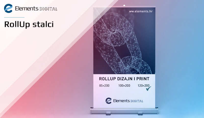 Roll-up stalci - dizajn i print